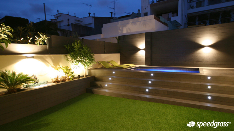 Terracing by speedgrass speedgrass - Luces para piscina ...